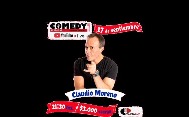 Claudio Moreno – Comedy Online